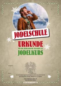 Jodel Urkunde
