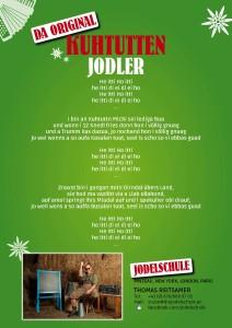 Jodel Urkunde (hinten)